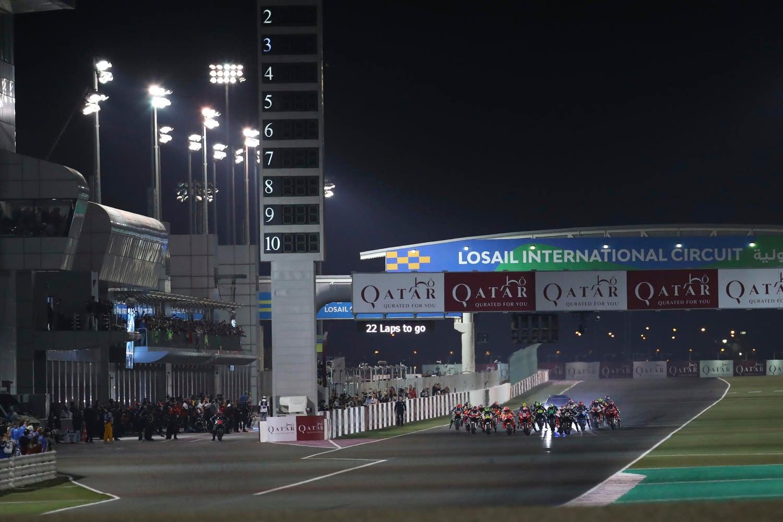 Immagine partenza GP del Qatar